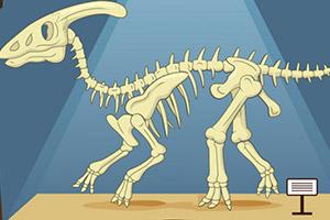 【组装恐龙标本】小游戏_组装恐龙标本游戏下